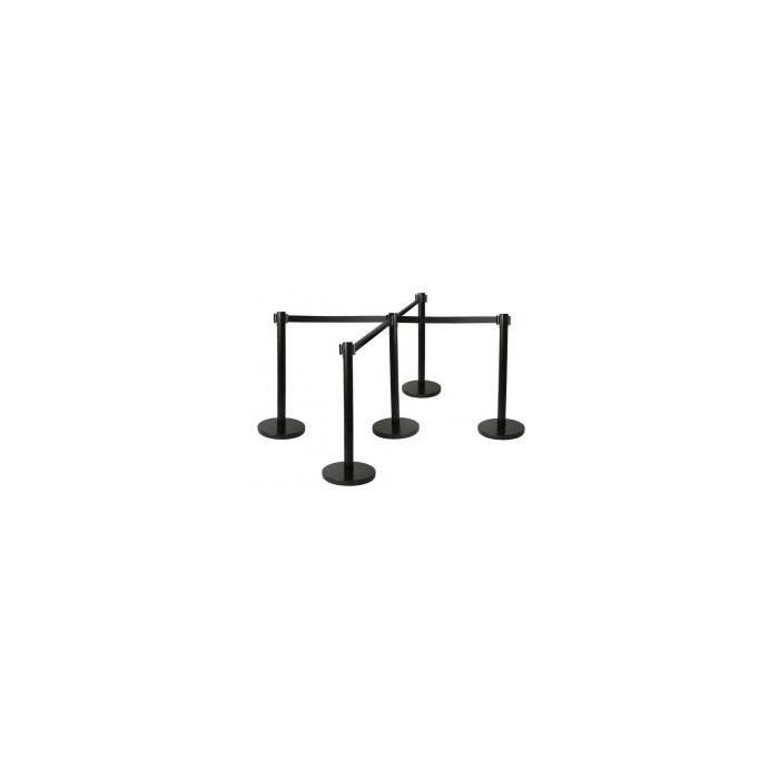 Postes delimitadores de filas|poste com fita retratil|baias separadoras|fita separadora de fila|fitas separadoras| postes de del