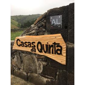placa de alojamento local Açores