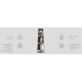 Base LED - mobile easy clip A4