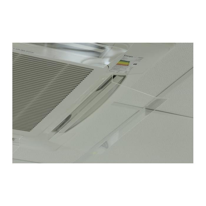 deflector de ar condicionado de parede ou split