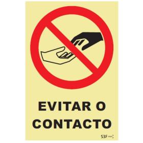 Evite o Contacto