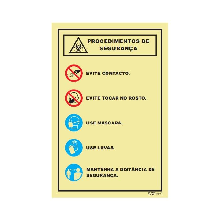 Procedimento de Segurança Covid 19