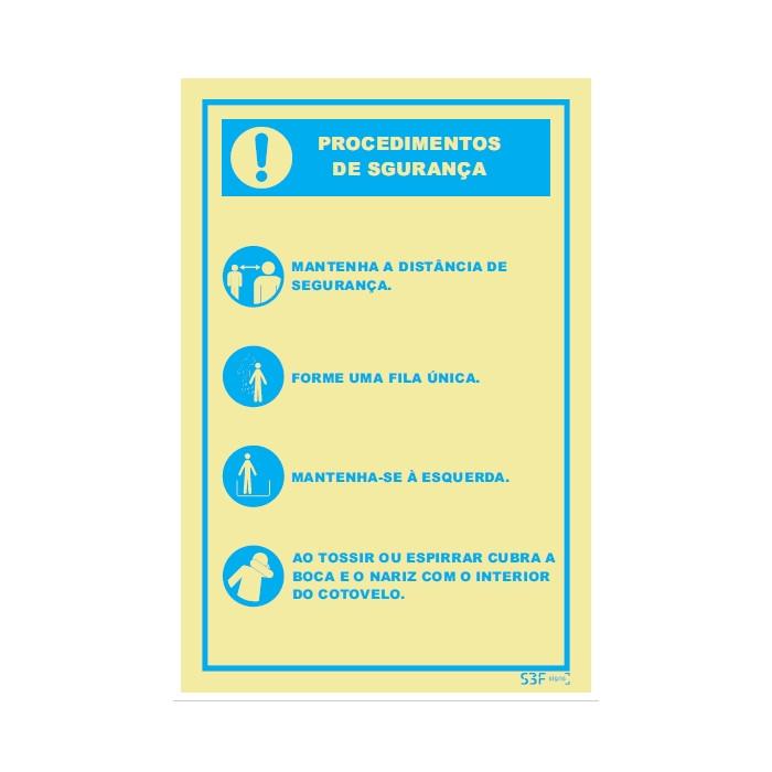 Procedimento de Segurança 3 Covid 19