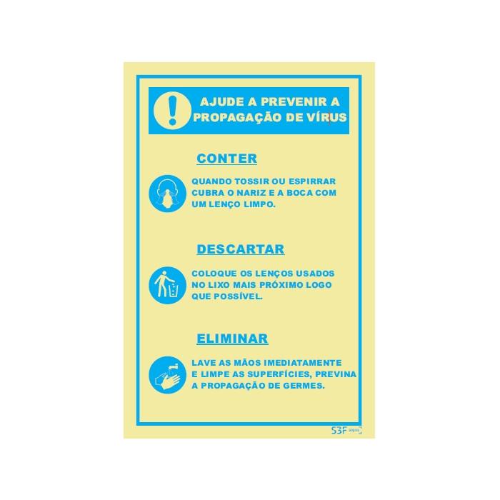 Ajude a Prevenir a Propagação do Vírus