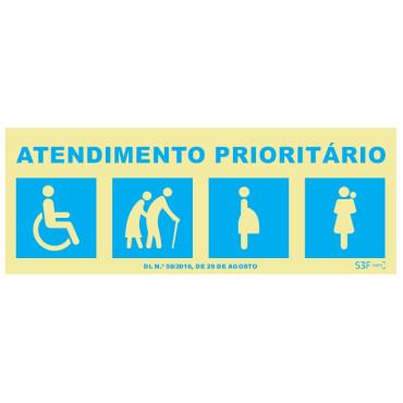 Atendimento Prioritário Saúde e segurança