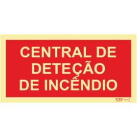 Sinal de central de incêndio | centro de deteção de incendios
