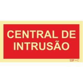 Sinal de central Intrusão