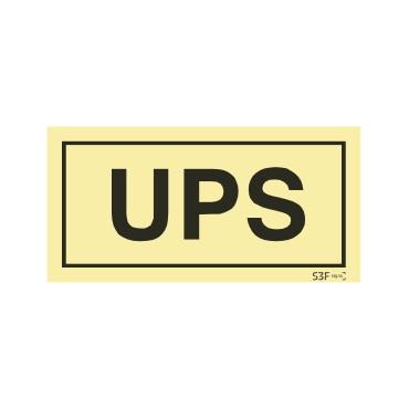 Sinal de UPS