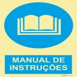 Sinal de obrigação, manual de instruções com descrição