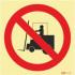 Sinal de proibição, proibida a entrada a pessoas não autorizadas