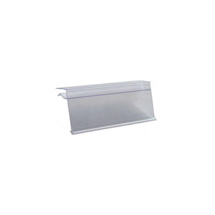 Perfil porta preços de Vidro transparente 39*1320 mm