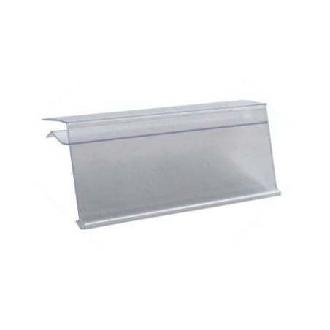 Perfil porta preços de Vidro transparente 39*1000 mm