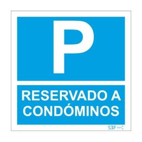 Sinal para condomínios, Parque reservado a condóminos
