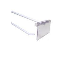 porta preços para Gancho transparente 39*65 mm