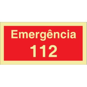 Sinalética Fotoluminescente|Saída de Emergência|Sinalização Segurança|Sinal emergências , sinal de 122