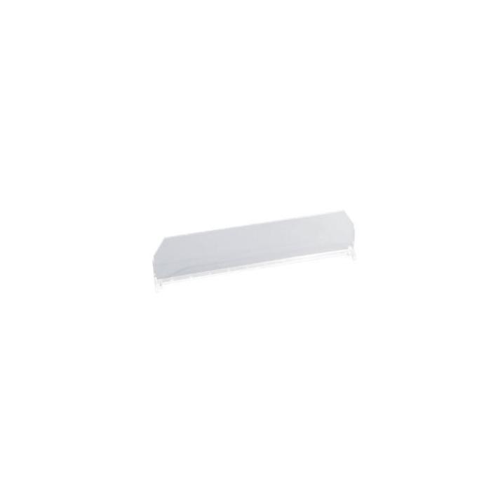 Separador transparente 60*385 mm para perfil TRACK