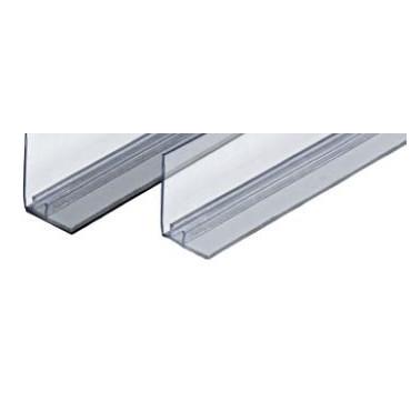 perfil TRACK  Magnético  com batente transparente 1320 * 30 mm