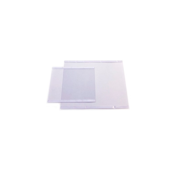 Bolsa vertical c/ bi-adesivo Transparente Reutilizável Vertical