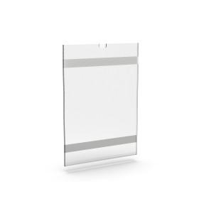 Bolsa porta-folha c/ bi-adesivo vertical