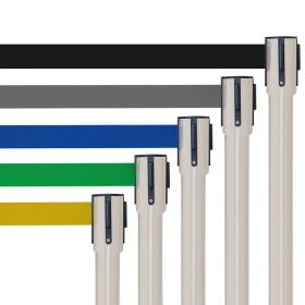 postes delimitadores de filas retrátil|poste com fita retratil|baias separadoras|fita separadora de fila| poste separadores |ges
