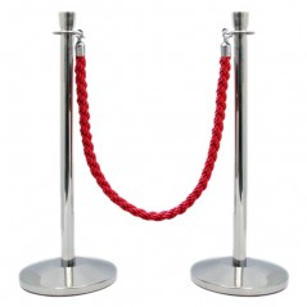 corda separador fila | postes separadores de corda|poste com fita retratil|postes de fita|postes com corda|poste delimitador com