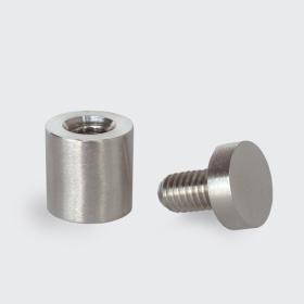 distanciadores para acrilico|distanciadores em inox|distanciadores para cofragem|fixador distanciador|afastadores de parede