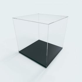 Caixa de exposição c/ base