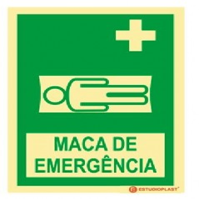 Sinal de Maca de Emergência
