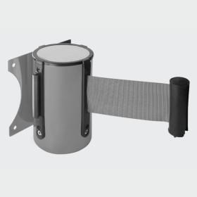 Barreira de parede com cinta retrátil |Barreira Delimitação|Pilaretes de segurança com Fita|Barreiras metálicas|Baias retrateis