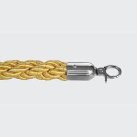 Corda entrelaçada amarela -...