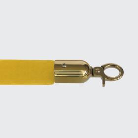 Corda lisa amarela - dourado