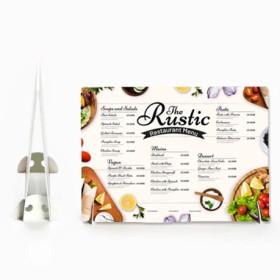 Expositor Desk menu mesa balcão