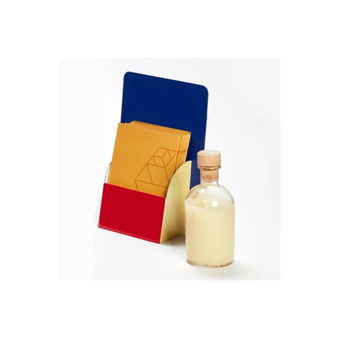 Expositor Pocket A5 menu mesa balcao flyers postais cartoes