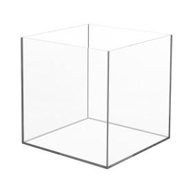 caixa em acrilico 20*20*20 cm