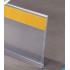 Perfil porta preços com bi-adesivo|PLV |PLV pontos de venda |acessórios prateleira  | perfil Retail |perfil supermercados |perfi