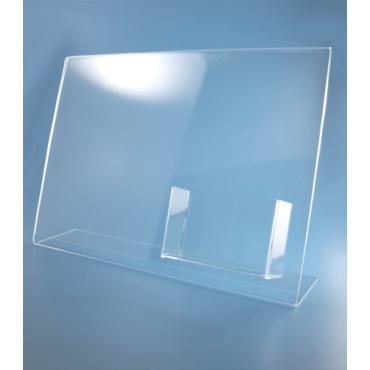 Bolsa modelo L c/ porta-cartões horizontal
